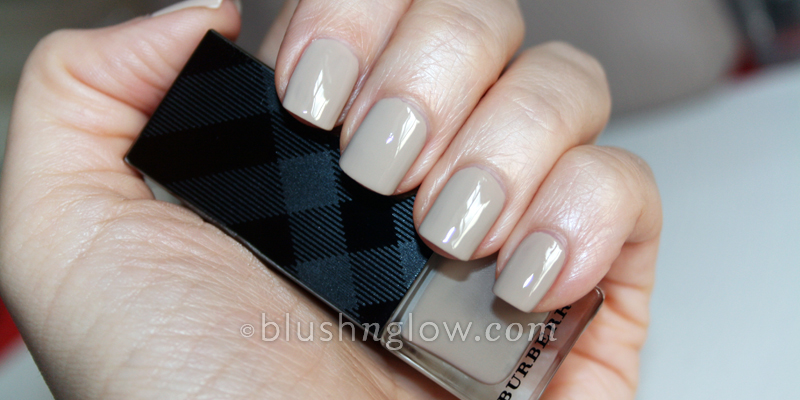 Burberry Nail Polish in Stone Swatch