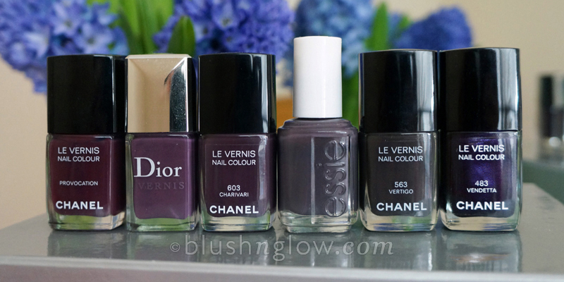 Chanel Charivari Nail Polish Comparison Swatches