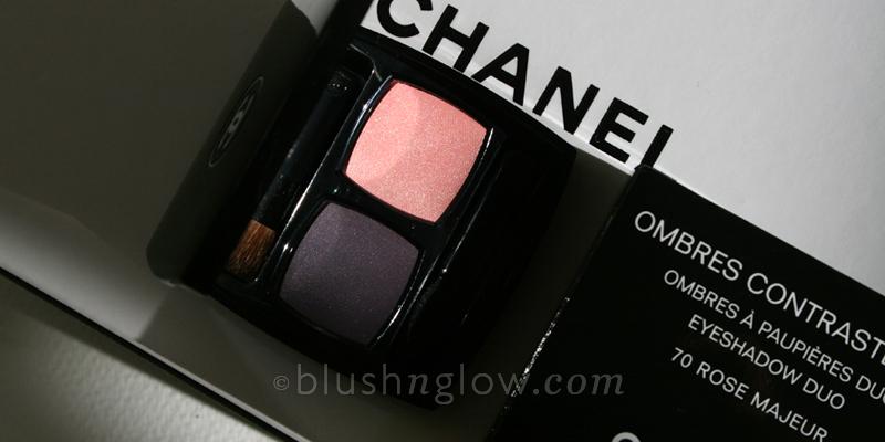 Chanel Rose Majeur eyeshadow duo