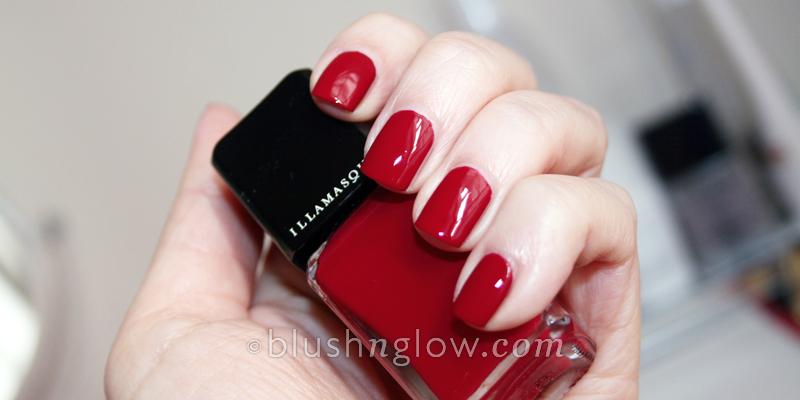 Illamasqua nail polish Throb swatch