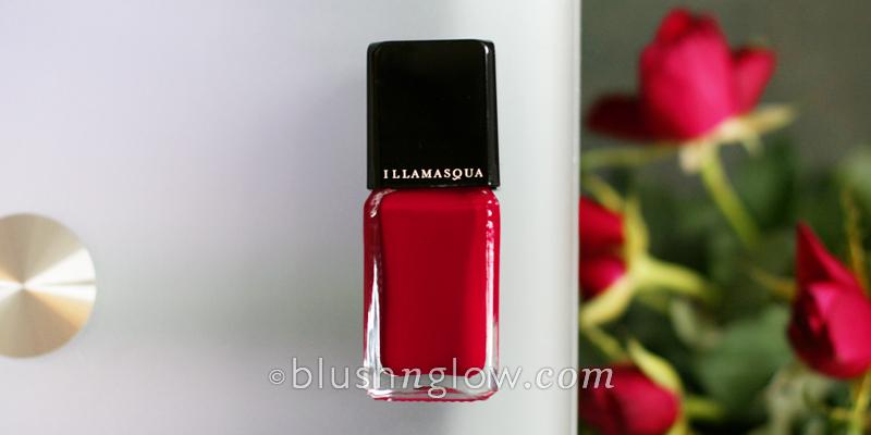 Illamasqua nail polish Throb