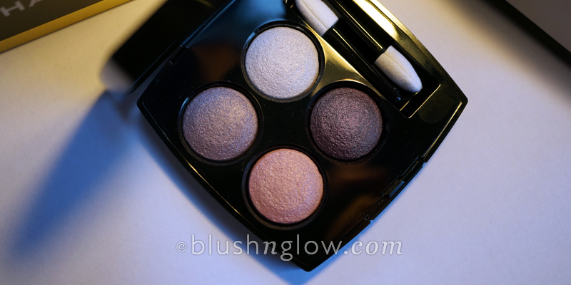 Chanel Tisse Camelia #202 eyeshadow quad