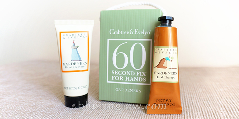 Crabtree Evelyn Gardeners 60 Second Fix Kit for Hands blushnglow