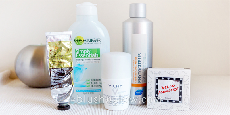 garnier, the body shop, phyto, benefit, vichy