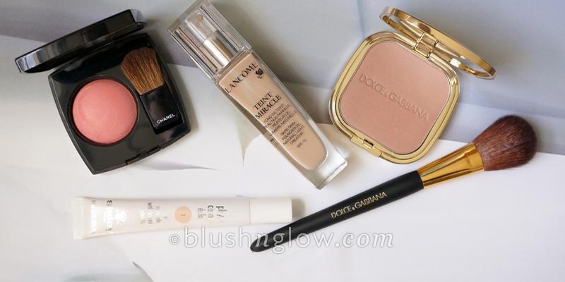Beauty haul Dolce & Gabbana Lancome Chanel Sisley