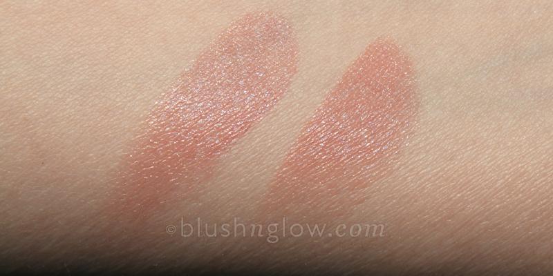 Lipstick Queen Saint Bare Nude Chanel Boy comparison