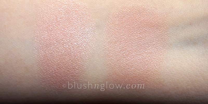 MAC Jolly Good Adored swatches