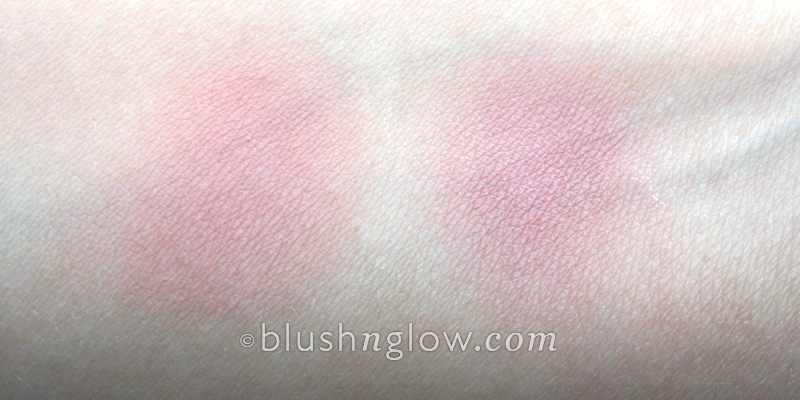 MAC Pink Cult blush and Naked Rose  Illamasqua