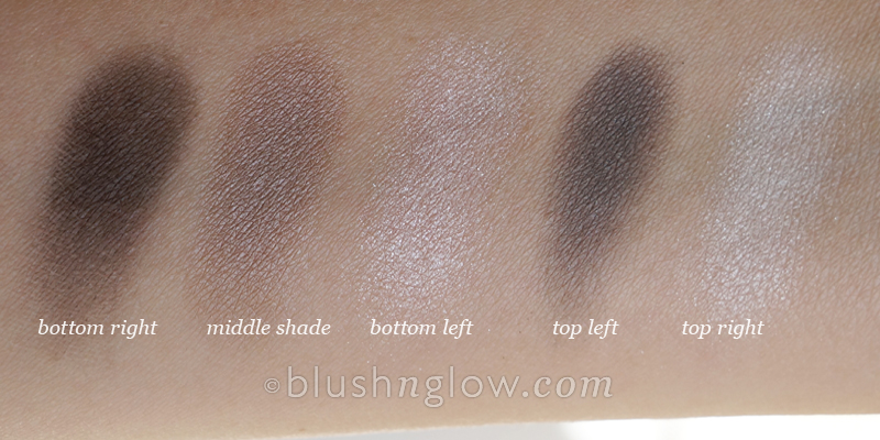 Dior 056 Bar 5 Couleurs Eyeshadow Palette swatch