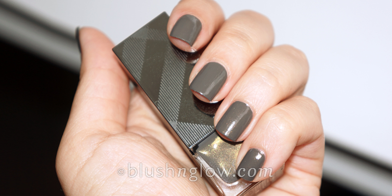 Burberry Steel Grey nail polish