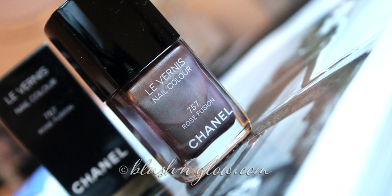 Chanel Rose Fusion Nail Polish