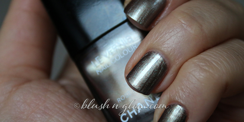Chanel Rose Fusion Nail Polish swatch