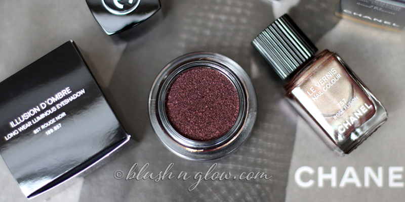 Chanel Rouge Noir 857 Illusion d Ombre