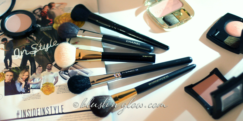 Favourite blush brushes comparison