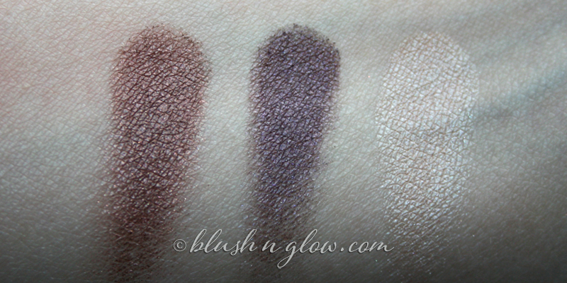 UrbanDecay eyeshadows Rockstar Roach Virgin swatch
